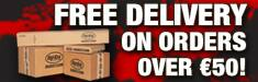 FREE SHIPPING ON ORDERS OVER €65!
