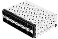 Image of Amphenol Commercial Products' ExpressPort™ SFP+ 2xN Combos Cage/Connector