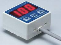 Image of Copal Electronics' PS30 Series Pressure Switch with Gauge