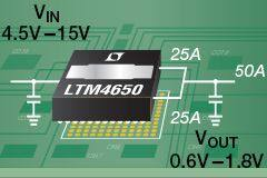 LTM4650 Module Regulator - Linear Technology