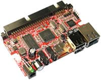 Image of Olimex's OLinuXino Single Board Linux Computer