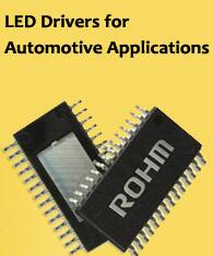 Image of ROHM Semiconductor's LED Drivers for Automotive Applications