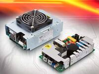 Image of XP Power's EMH Series, 250 W and 350 W AC-DC Supplies