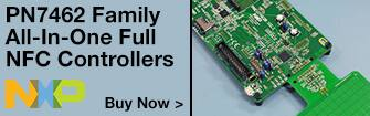 NXP Semiconductor PN7462 Family All-In-One Full NFC Controllers