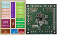 Image of ROHM Semiconductor's BD71815AGW System PMIC for Battery Powered Systems