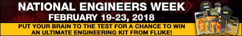 National Engineers Week - February 19-23, 2018 | Put Your Brain to the Test for a Chance to Win an Ultimate Engineering Kit from Fluke!
