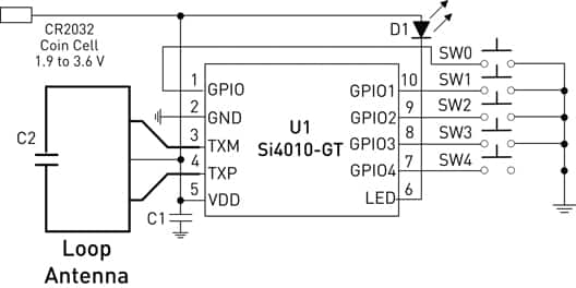 simplify the design of an rf remote control